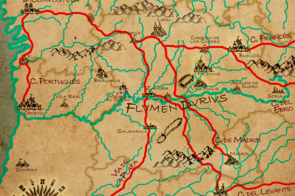 El Camino de Santiago y el río Duero: dos trayectorias paralelas condenadas a encontrarse